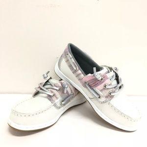 Sperry Girls Songfish Jr Grey Shoe NIB